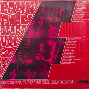 FANIA ALL-STARS VOL.2 LIVE AT THE RED GARTER
