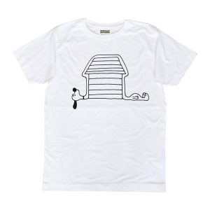 [African Apparel] LONG NECK SNOOPEE by KEN KAGAMI Tシャツ(ホワイト)