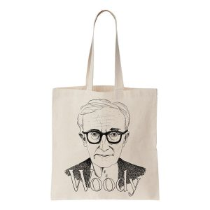 [COOL AND THE BAG] ウッディ・アレン トート