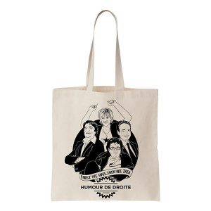 [COOL AND THE BAG] Troll bag - Humour de droite トート