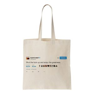 [COOL AND THE BAG] Kanye West トート