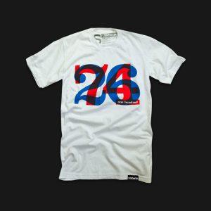 [Ugmonk] ONE HUNDRED Tシャツ(ホワイト)(***Womens S, M)