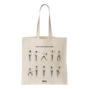[COOL AND THE BAG] トム・ヨーク・ダンス・ガイド トート
